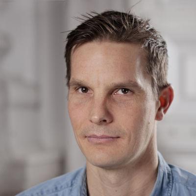 Skådespelaren Martin Bahne