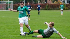 EIF:s Fisnik Gerxhaliu gjorde tre mål mot FC Espoo.