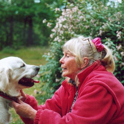 Barnboksförfattaren till bland annat böckerna om Totte, Gunilla Wolde.