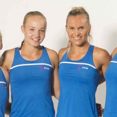Suomen Fed Cup -joukkue.