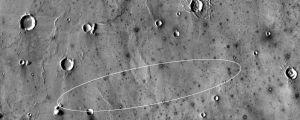 Inom det här lilla området på Mars ska rymdsonden Insight landa.