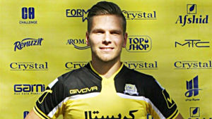 Sebastian Strandvall, Rah Ahan Crystal FC, augusti 2015.