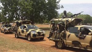 Militära styrkor i Nigeria