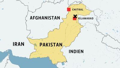 Privatplan stortade i pakistan