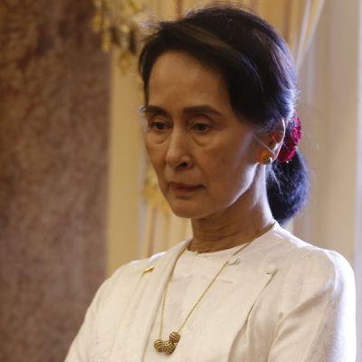 Myanmarin johtaja Aung San Suu Kyi