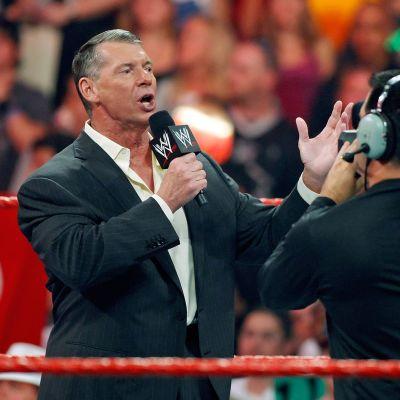 Showpainijaliitto WWE:n omistaja Vince McMahon.