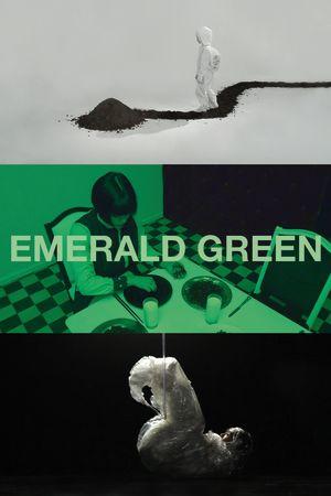 Carolin Koss: Emerald Green (utställningsplansch)