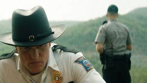Polischef Willoughby i närbild.