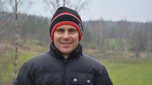 Fredrik Bergholm, Bjärkas golf, golfbanan i västanfjärd,