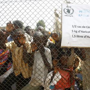 Haftiga strider rasar i bangui