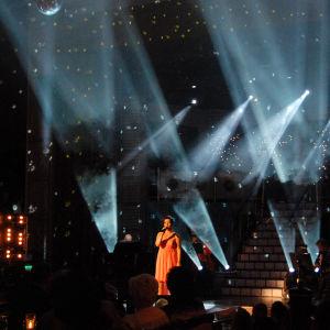 Mervi Kovero lauloi tiensä Tangomarkkinat 2014 Finaalin karsinnasta Kuningatarfinaaliin