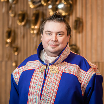 Sametingets ordförande Tuomas Aslak Juuso.