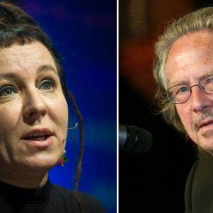 Peter Handke och Olga Tokarczuk