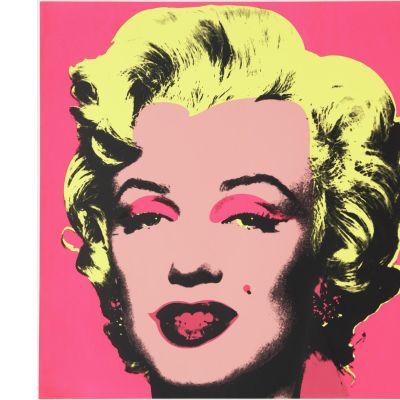 Andy Warholin Marilyn Monroeta esittävä juliste