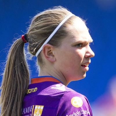 Emelie Johansson i Åland United.