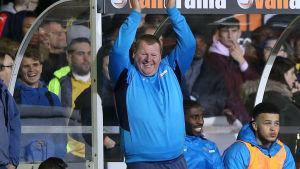 """Wayne Shaw tackar Arsenal-supportrarna som sjöng """"Vem åt alla piroger?""""."""