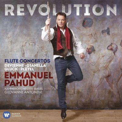 Emmanuel Pahudin levyn kansikuva