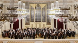 Filharmonin i S:t Petersburg.