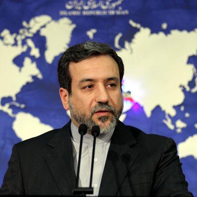 Irans vice utrikesminister Abbas Araghchi
