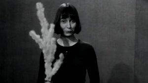 Noppa-ohjelman juontaja Maija virpoo (1974).