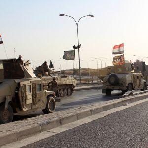 Nara 100 doda i utdragen strid i irak
