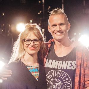Eva Kela och Kasper Ramström är ett av lagen i På resande not