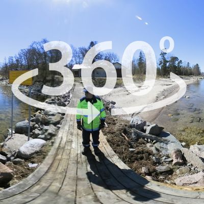 360-video Isosaaresta