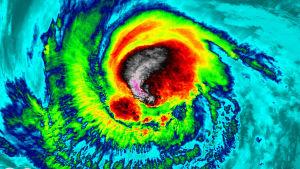 Orkanen Irma.