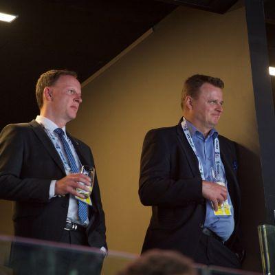 Matti Nurminen ja Jukka Toivakka.