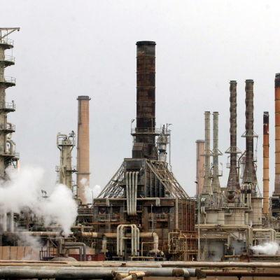 oljeraffinaderi i baiji irak
