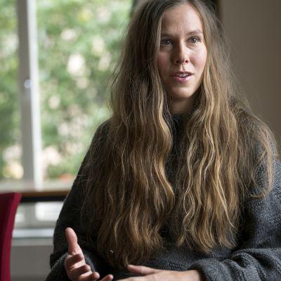Författaren Nina Ivarsson.