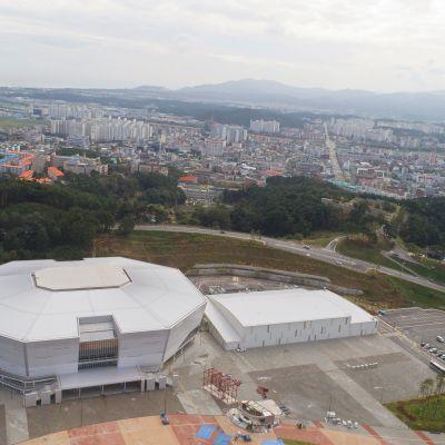 Etelä-Korean olympialaisten jääkiekko pelataan Gangneungin hallissa.
