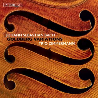 Bach: Goldberg-muunnelmia / Trio Zimmermann