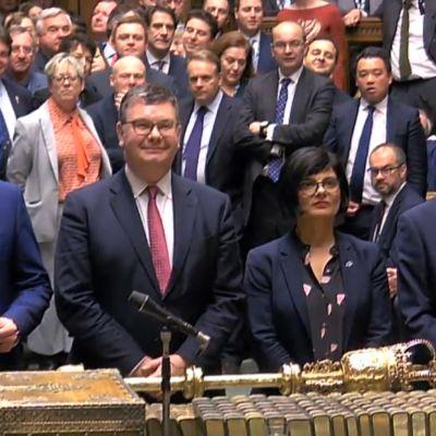 Britannian parlamentin alahuone antoi tukensa brexit-lainsäädännölle.