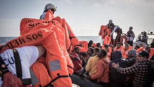 Flyktingar på Medelhavet