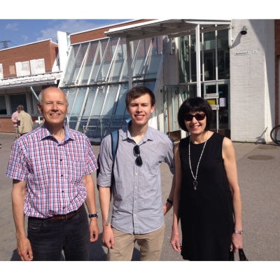 Nils, Martin och Ann-Sofi Lagerström