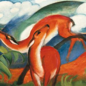 Målning av Franz Marc