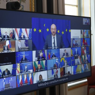 Huippukokous järjestettiin tautitilanteen vuoksi videoyhteyden välityksellä.