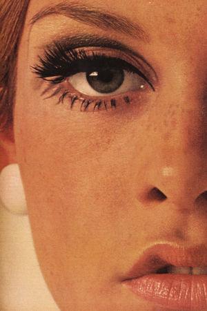 Twiggy, 1960-luvun supermalli.