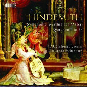 Paul Hindemithin sinfonialevyn kansikuva.