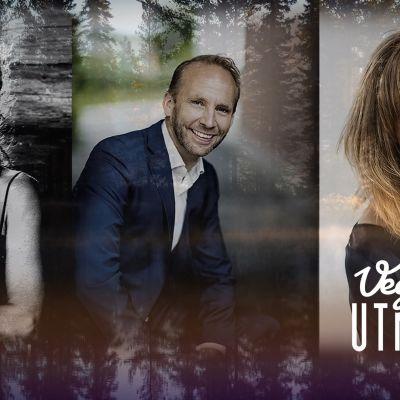 Cecilia Kyllinge, Erik-André Hvidsten och Heléne Nyberg.