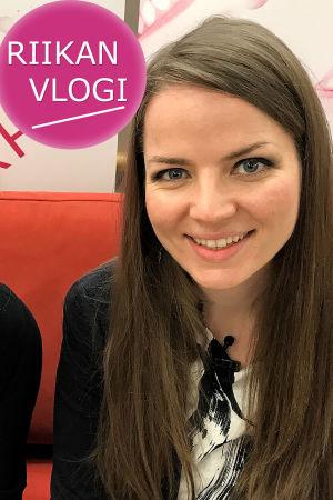 Toimittaja Riikka Holopainen ja säveltäjä Cecilia Damström