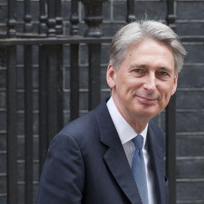 Ny brittisk utrikesminister Philip Hammond.
