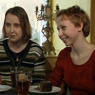 Annika Sandlund och Stella Parland.
