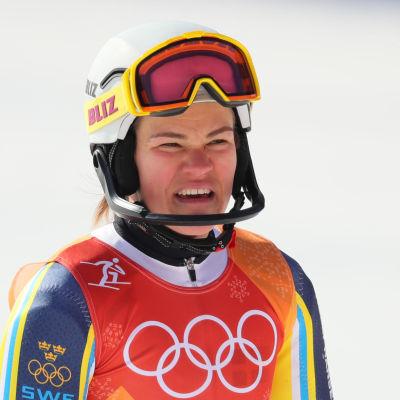 Anna Swenn-Larsson i OS 2018.