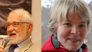 Jan Kåhre, Nora Kitinmäki, pristagare för informationsspridning.