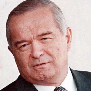 Uzbekistans avlidne president Islam Karimov 1998.