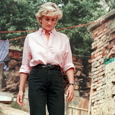 Prinsessan Diana i Sarajevo 1997