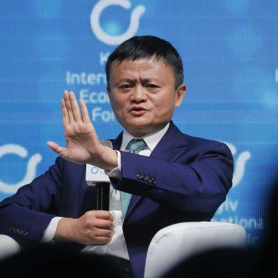 Kuvassa on Jack Ma marraskuussa 2019.