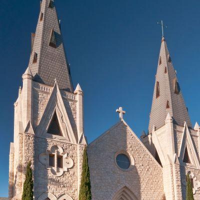 Katolinen kirkko Teksasissa.